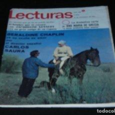 Coleccionismo de Revistas: REVISTA LECTURAS EN ESTADO ACEPTABLE 813 17 NOVIEMBRE 1967 . Lote 173680179