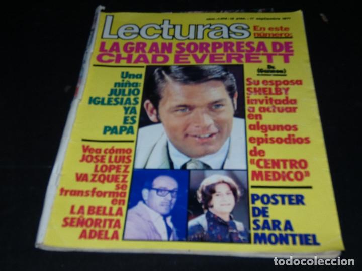 REVISTA LECTURAS EN ESTADO ACEPTABLE 1013 17 SPETIEMBRE 1971 (Coleccionismo - Revistas y Periódicos Modernos (a partir de 1.940) - Revista Lecturas)