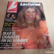 Coleccionismo de Revistas: REVISTA LECTURAS Nº1926 AÑO 1989 ROMINA Y ALBANO / ISABEL PANTOJA / ISABEL PREYSLER / CHAVARRI . Lote 173818545
