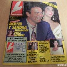Coleccionismo de Revistas: REVISTA LECTURAS Nº2020 AÑO 1990 ISABEL PANTOJA / MICHAEL LOWE / MARTA SANCHEZ / SABATER . Lote 173818604