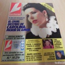 Coleccionismo de Revistas: REVISTA LECTURAS Nº 2019 - 1990 -ISABEL PANTOJA - MARTA SANCHEZ - VERANO AZUL - JOHN LENNON . Lote 173818714