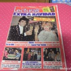 Coleccionismo de Revistas: REVISTA LECTURAS 1980 EXTRA DE NAVIDAD - LOS BEATLES - BARBARA REY Y ANGEL CRISTO - LOS KENNEDY. Lote 173879162