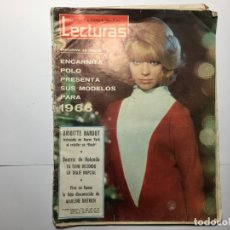 Coleccionismo de Revistas: REVISTA LECTURAS Nº 715 - 31 DICIEMBRE 1965 - BRIGITTE BARDOT - ENCARNITA POLO. Lote 173991170