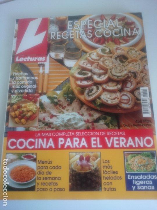 LECTURAS ESPECIAL COCINA Nº 9 (Coleccionismo - Revistas y Periódicos Modernos (a partir de 1.940) - Revista Lecturas)