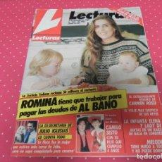Coleccionismo de Revistas: REVISTA LECTURAS / AÑO 1987 Nº1861 / ROMINA Y ALBANO,CAMILO SESTO,JULIO IGLESIAS,MELODIE, CARMEN RO . Lote 174022779