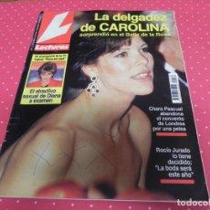 Coleccionismo de Revistas: LECTURAS - 1993 - CAROLINA, ANA BELEN, ISABEL PANTOJA, ROCIO JURADO, R. DURCAL, ANA OBREGON, DIANA. Lote 174028768