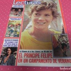 Coleccionismo de Revistas: REVISTA LECTURAS-1980-MARISOL-RAPHAEL-TRIANA-TEQUILA-REXACH BARÇA-PITUFOS-OTERO-CARMEN SEVILLA. Lote 174028872