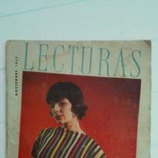 Coleccionismo de Revistas: REVISTA LECTURAS, N° 373, NOVIEMBRE 1955. Lote 174691108