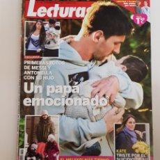 Coleccionismo de Revistas: REVISTA LECTURAS. Nº 3169. 29 DICIEMBRE 2012 PRIMERAS FOTOS DE MESSI Y ANTONELLA CON SU HIJO. TDKR64. Lote 174863709