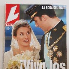 Coleccionismo de Revistas: REVISTA LECTURAS. Nº 2723. 4 JUNIO 2004. LA BODA DEL SIGLO. PRINCIPE FELIPE Y LETICIA. TDKR64. Lote 174865737