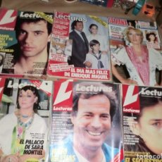 Coleccionismo de Revistas: LOTE DE LECTURAS CON PORTADAS INTERESANTES. Lote 175070843