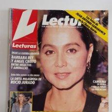 Coleccionismo de Revistas: REVISTA LECTURAS. Nº1935. 10 MAYO 1989. BARBARA REY Y ANGEL CRISTO ENTRE INSULTOS Y AMENAZAS TDKR62. Lote 177112963