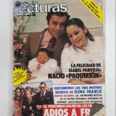 Coleccionismo de Revistas: REVISTA LECTURA. Nº1632. 1984. LA FELICIDAD DE ISABEL PANTOJA. NACIO PAQUIRRIN. TDKR62. Lote 177113812