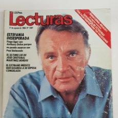 Coleccionismo de Revistas: REVISTA LECTURAS. 17 AGOSTO 1984. Nº1687. RICHARD BARTON. 4 ESPOSAS PERO UN SOLO GRAN AMOR. TDKR62. Lote 177114412
