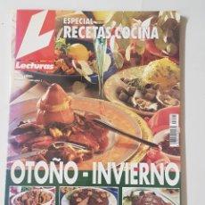 Coleccionismo de Revistas: REVISTA LECTURAS. ESPECIAL COCINA OTOÑO-INVIERNO. TDKR62. Lote 177115415