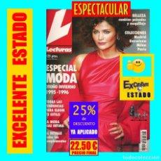 Coleccionismo de Revistas: LECTURAS ESPECIAL MODA OTOÑO INVIERNO - 1995 - 1996 - TENDENCIAS COMPLEMENTOS BELLEZA - EXCELENTE. Lote 177324914