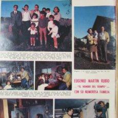 Coleccionismo de Revistas: RECORTE REVISTA LECTURAS Nº 961 1970 EUGENIO MARTIN RUBIO. Lote 177383555