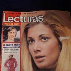 Collectionnisme de Magazines: LECTURAS Nº 1141. BODA MARIOLA, AMPARO MUÑOZ,.. POSTER DE CRUYFF. Lote 177953232