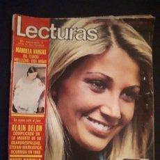 Coleccionismo de Revistas: LECTURAS Nº 1121. MARIOLA, ALAIN DELON, MANUELA VARGAS,.... Lote 177978673