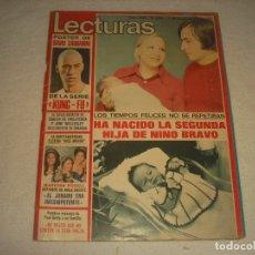 Collectionnisme de Magazines: LECTURAS N. 1129, DICIEMBRE 1973,EN PORTADA NINO BRAVO, KUNG FU, MISS MUNDO.... Lote 178253150