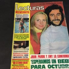 Coleccionismo de Revistas: LECTURAS MARISA MEDINA JUAN PARDO RAFAELA CARRA MARISA NARANJO RAPHAEL DIABLOS TOM JONES CECILIA . Lote 179219753