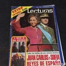 Coleccionismo de Revistas: LECTURAS 1975 HEIDI Mª JOSE CANTUDO LA CASA DE LA PRADERA SANTABARABARA ANA BELEN DANIEL VELAZQUEZ . Lote 179329340