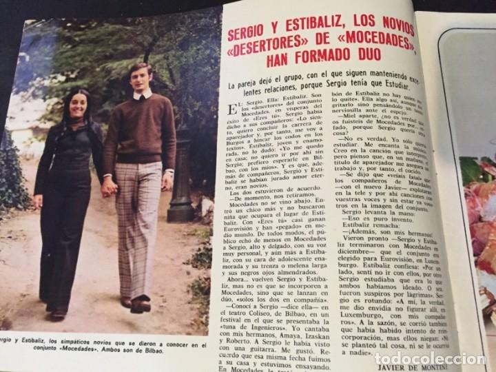 Coleccionismo de Revistas: LECTURAS 1973 RAPHAEL SERGIO Y ESTIBALIZ LINA MORGAN CRONICAS DE UN PUEBLO MASSIEL ROCIO DURCAL BAU - Foto 2 - 179331502