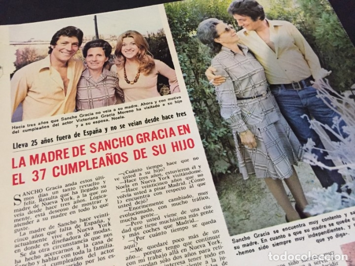 Coleccionismo de Revistas: LECTURAS 1973 RAPHAEL SERGIO Y ESTIBALIZ LINA MORGAN CRONICAS DE UN PUEBLO MASSIEL ROCIO DURCAL BAU - Foto 3 - 179331502