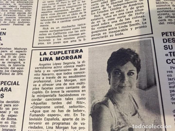Coleccionismo de Revistas: LECTURAS 1973 RAPHAEL SERGIO Y ESTIBALIZ LINA MORGAN CRONICAS DE UN PUEBLO MASSIEL ROCIO DURCAL BAU - Foto 4 - 179331502