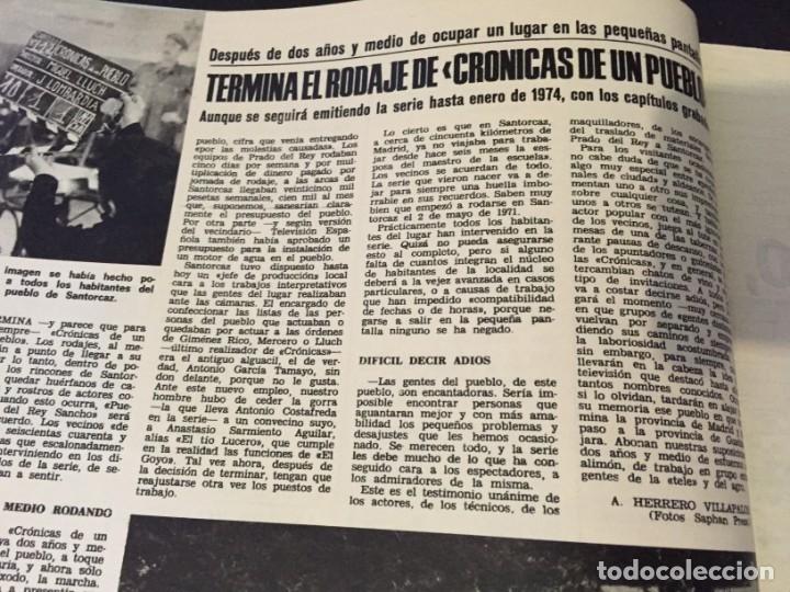Coleccionismo de Revistas: LECTURAS 1973 RAPHAEL SERGIO Y ESTIBALIZ LINA MORGAN CRONICAS DE UN PUEBLO MASSIEL ROCIO DURCAL BAU - Foto 5 - 179331502
