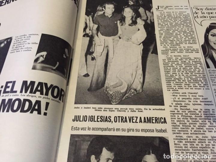 Coleccionismo de Revistas: LECTURAS 1973 RAPHAEL SERGIO Y ESTIBALIZ LINA MORGAN CRONICAS DE UN PUEBLO MASSIEL ROCIO DURCAL BAU - Foto 6 - 179331502