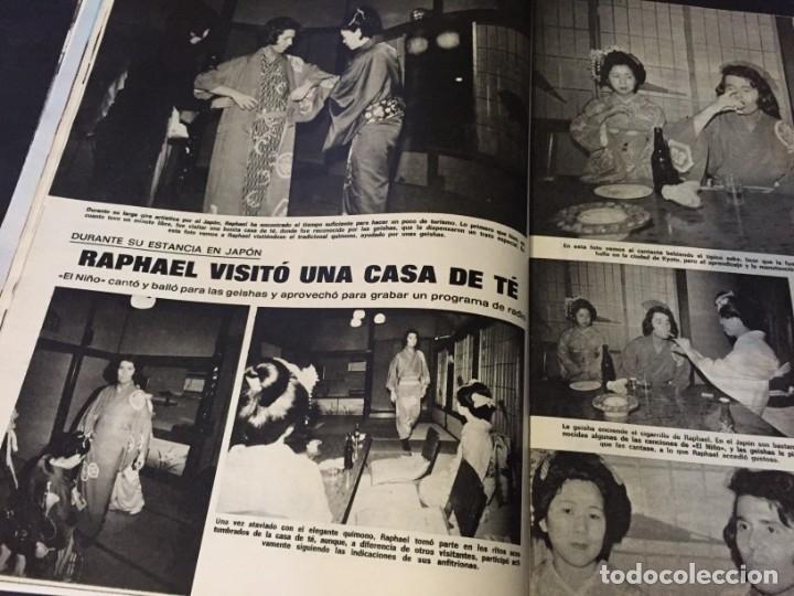 Coleccionismo de Revistas: LECTURAS 1973 RAPHAEL SERGIO Y ESTIBALIZ LINA MORGAN CRONICAS DE UN PUEBLO MASSIEL ROCIO DURCAL BAU - Foto 7 - 179331502