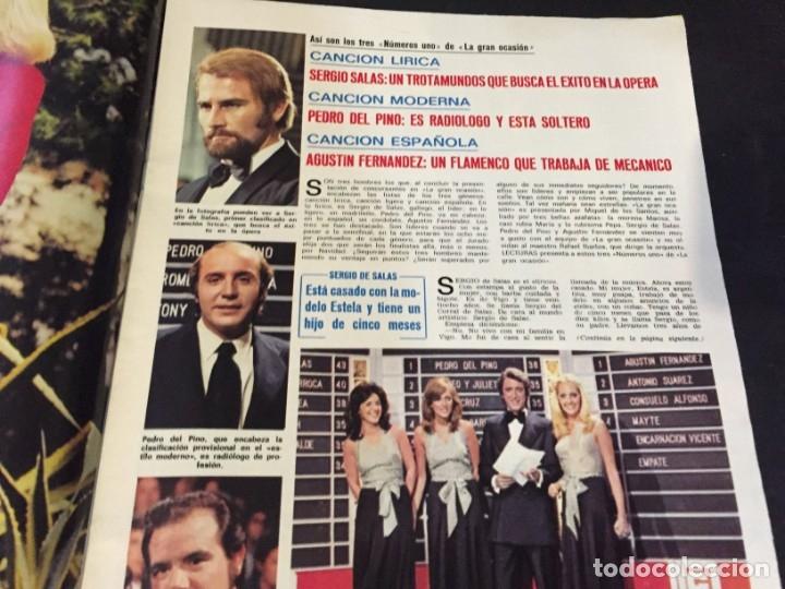 Coleccionismo de Revistas: LECTURAS 1973 RAPHAEL SERGIO Y ESTIBALIZ LINA MORGAN CRONICAS DE UN PUEBLO MASSIEL ROCIO DURCAL BAU - Foto 9 - 179331502
