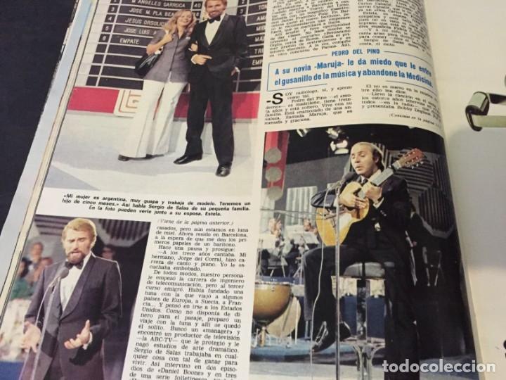 Coleccionismo de Revistas: LECTURAS 1973 RAPHAEL SERGIO Y ESTIBALIZ LINA MORGAN CRONICAS DE UN PUEBLO MASSIEL ROCIO DURCAL BAU - Foto 10 - 179331502
