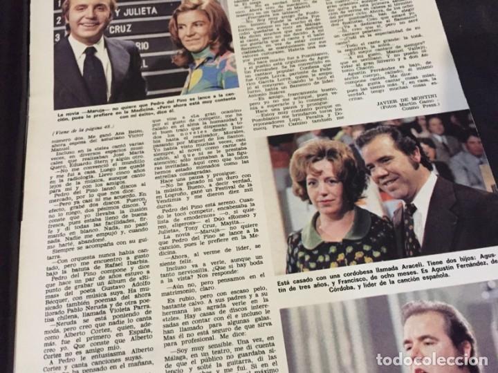 Coleccionismo de Revistas: LECTURAS 1973 RAPHAEL SERGIO Y ESTIBALIZ LINA MORGAN CRONICAS DE UN PUEBLO MASSIEL ROCIO DURCAL BAU - Foto 11 - 179331502