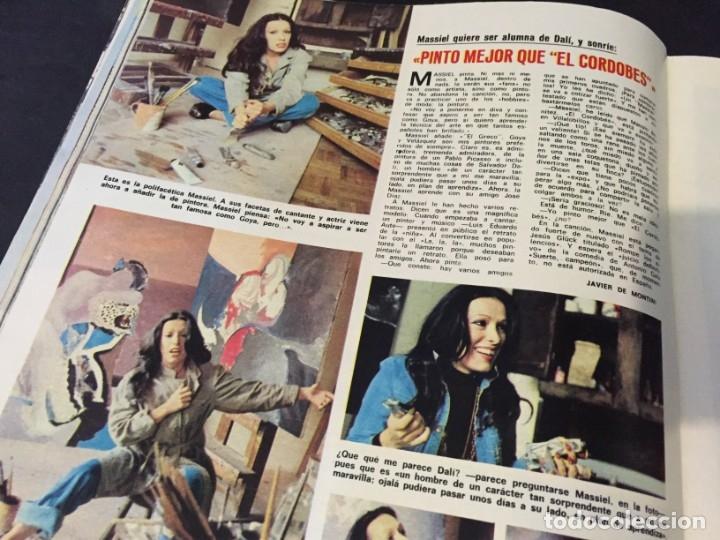 Coleccionismo de Revistas: LECTURAS 1973 RAPHAEL SERGIO Y ESTIBALIZ LINA MORGAN CRONICAS DE UN PUEBLO MASSIEL ROCIO DURCAL BAU - Foto 14 - 179331502