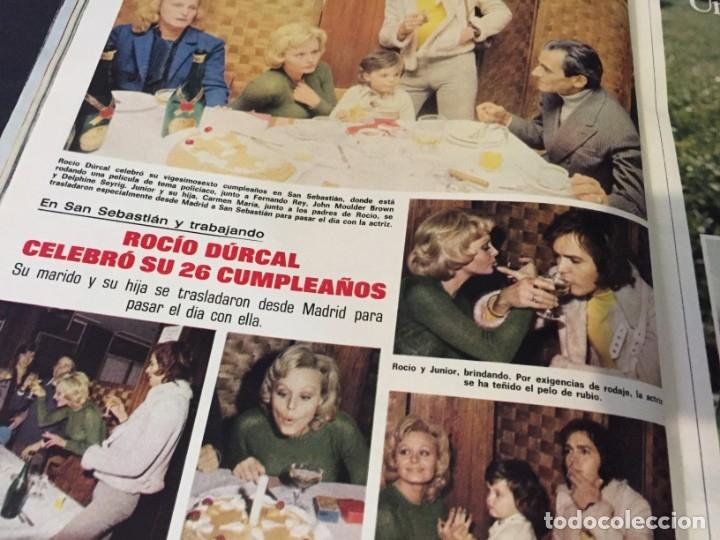 Coleccionismo de Revistas: LECTURAS 1973 RAPHAEL SERGIO Y ESTIBALIZ LINA MORGAN CRONICAS DE UN PUEBLO MASSIEL ROCIO DURCAL BAU - Foto 15 - 179331502