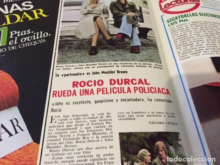 Coleccionismo de Revistas: LECTURAS 1973 RAPHAEL SERGIO Y ESTIBALIZ LINA MORGAN CRONICAS DE UN PUEBLO MASSIEL ROCIO DURCAL BAU - Foto 16 - 179331502