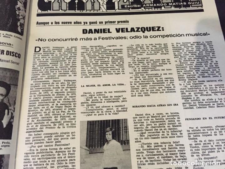 Coleccionismo de Revistas: LECTURAS 1973 RAPHAEL SERGIO Y ESTIBALIZ LINA MORGAN CRONICAS DE UN PUEBLO MASSIEL ROCIO DURCAL BAU - Foto 17 - 179331502