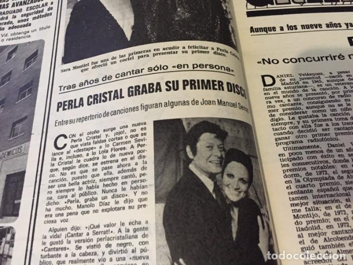 Coleccionismo de Revistas: LECTURAS 1973 RAPHAEL SERGIO Y ESTIBALIZ LINA MORGAN CRONICAS DE UN PUEBLO MASSIEL ROCIO DURCAL BAU - Foto 18 - 179331502