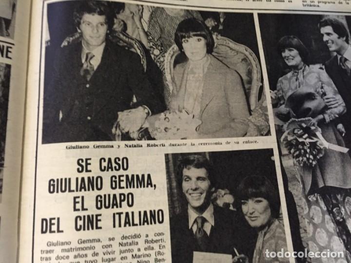 Coleccionismo de Revistas: LECTURAS 1973 RAPHAEL SERGIO Y ESTIBALIZ LINA MORGAN CRONICAS DE UN PUEBLO MASSIEL ROCIO DURCAL BAU - Foto 21 - 179331502