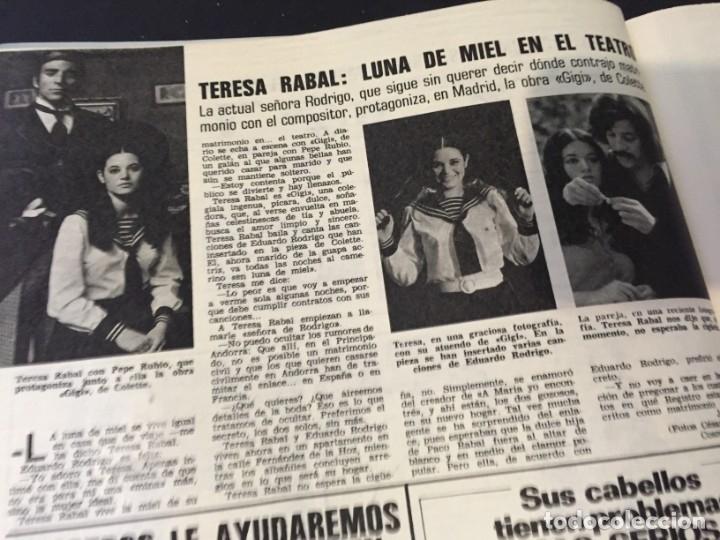 Coleccionismo de Revistas: LECTURAS 1973 RAPHAEL SERGIO Y ESTIBALIZ LINA MORGAN CRONICAS DE UN PUEBLO MASSIEL ROCIO DURCAL BAU - Foto 22 - 179331502