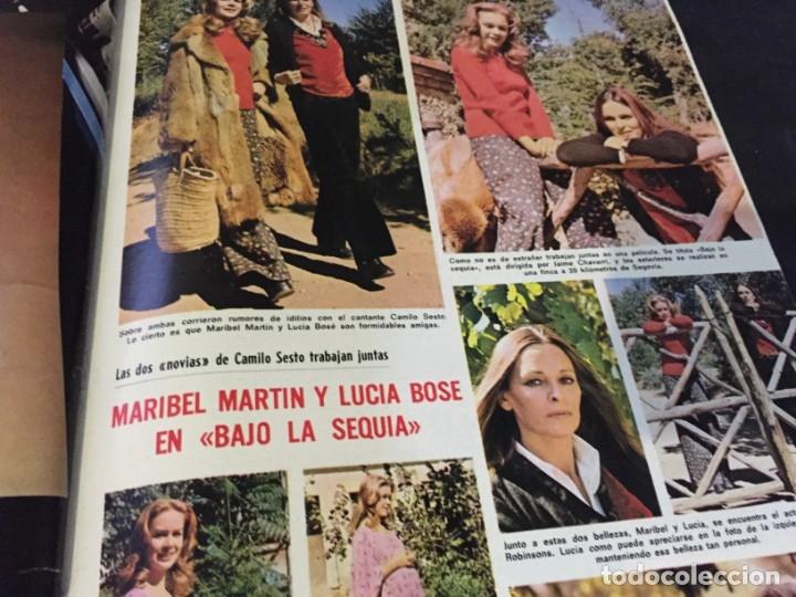Coleccionismo de Revistas: LECTURAS 1973 RAPHAEL SERGIO Y ESTIBALIZ LINA MORGAN CRONICAS DE UN PUEBLO MASSIEL ROCIO DURCAL BAU - Foto 25 - 179331502