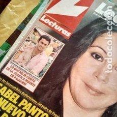 Coleccionismo de Revistas: REVISTA LECTURAS AÑO 1985 SERIE V, LOS VISITANTES BODA DIANA, ISABEL PANTOJA. Lote 180982980