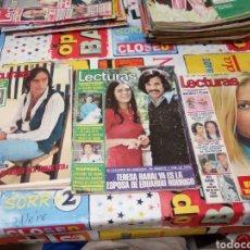 Coleccionismo de Revistas: LOTE REVISTAS LECTURAS AÑOS 70. Lote 180985907
