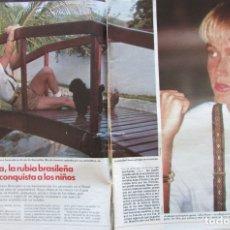 Collectionnisme de Magazines: RECORTE REVISTA LECTURAS Nº 2025 1991 XUXA 5 PGS. Lote 181080856