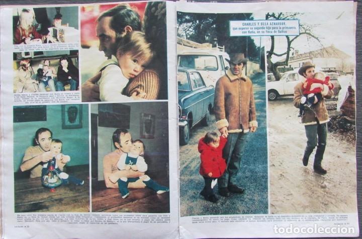 RECORTE REVISTA LECTURAS Nº 982 1971 CHARLES AZNAVOUR (Coleccionismo - Revistas y Periódicos Modernos (a partir de 1.940) - Revista Lecturas)