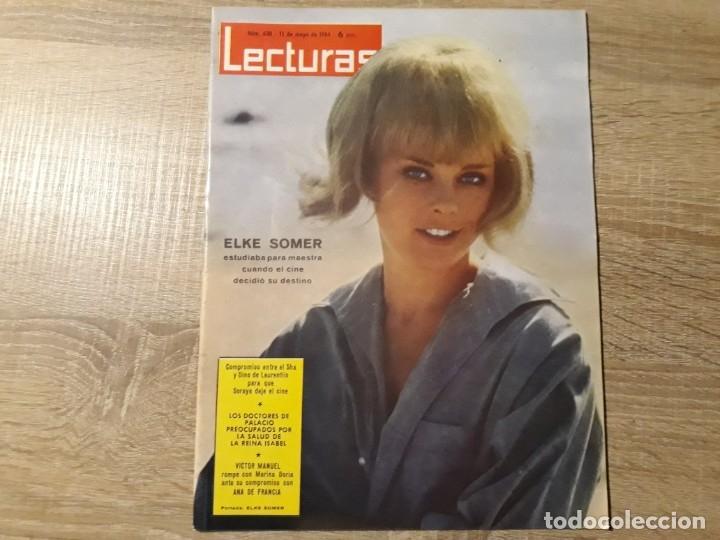ELKE SOMMER, VÍCTOR MANUEL ETC.LECTURAS 630 AÑO 1964 (Coleccionismo - Revistas y Periódicos Modernos (a partir de 1.940) - Revista Lecturas)
