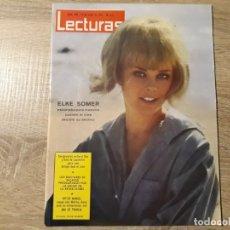 Coleccionismo de Revistas: ELKE SOMMER, VÍCTOR MANUEL ETC.LECTURAS 630 AÑO 1964. Lote 182405946