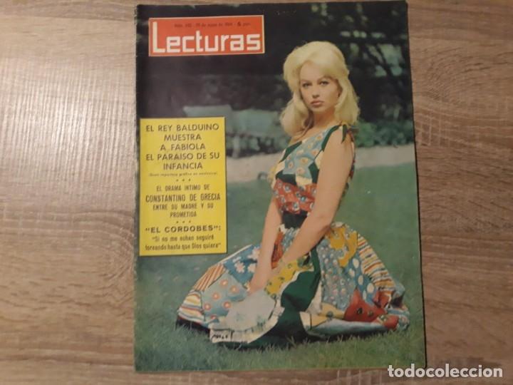 BALDUINO FABIOLA, EL CORDOBES ETC.LECTURAS 632 AÑO 1964 (Coleccionismo - Revistas y Periódicos Modernos (a partir de 1.940) - Revista Lecturas)